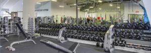 Spejlvæg fitness fitnesscenter
